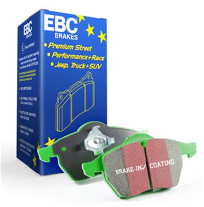 EBC 12+ Ford Focus 2.0 Turbo ST Greenstuff Rear Brake Pads