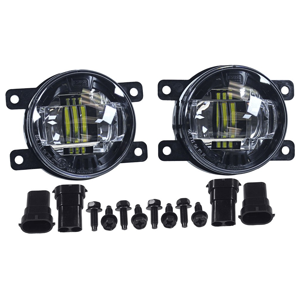 Diode Dynamics Fog Light LED Luxeon With Projector Housing Pair Focus ST  2013-2014/Fiesta ST 2014-2017