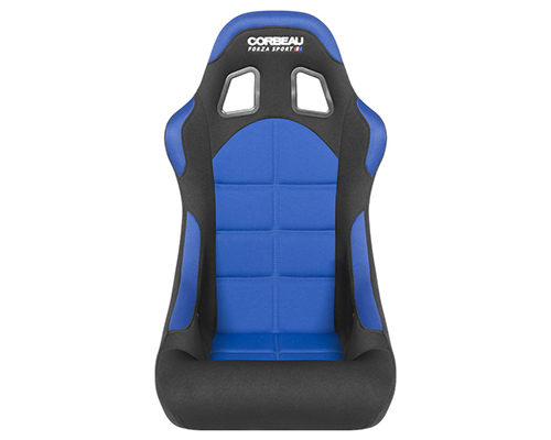 Corbeau Forza Sport Seat in Black/Blue Cloth