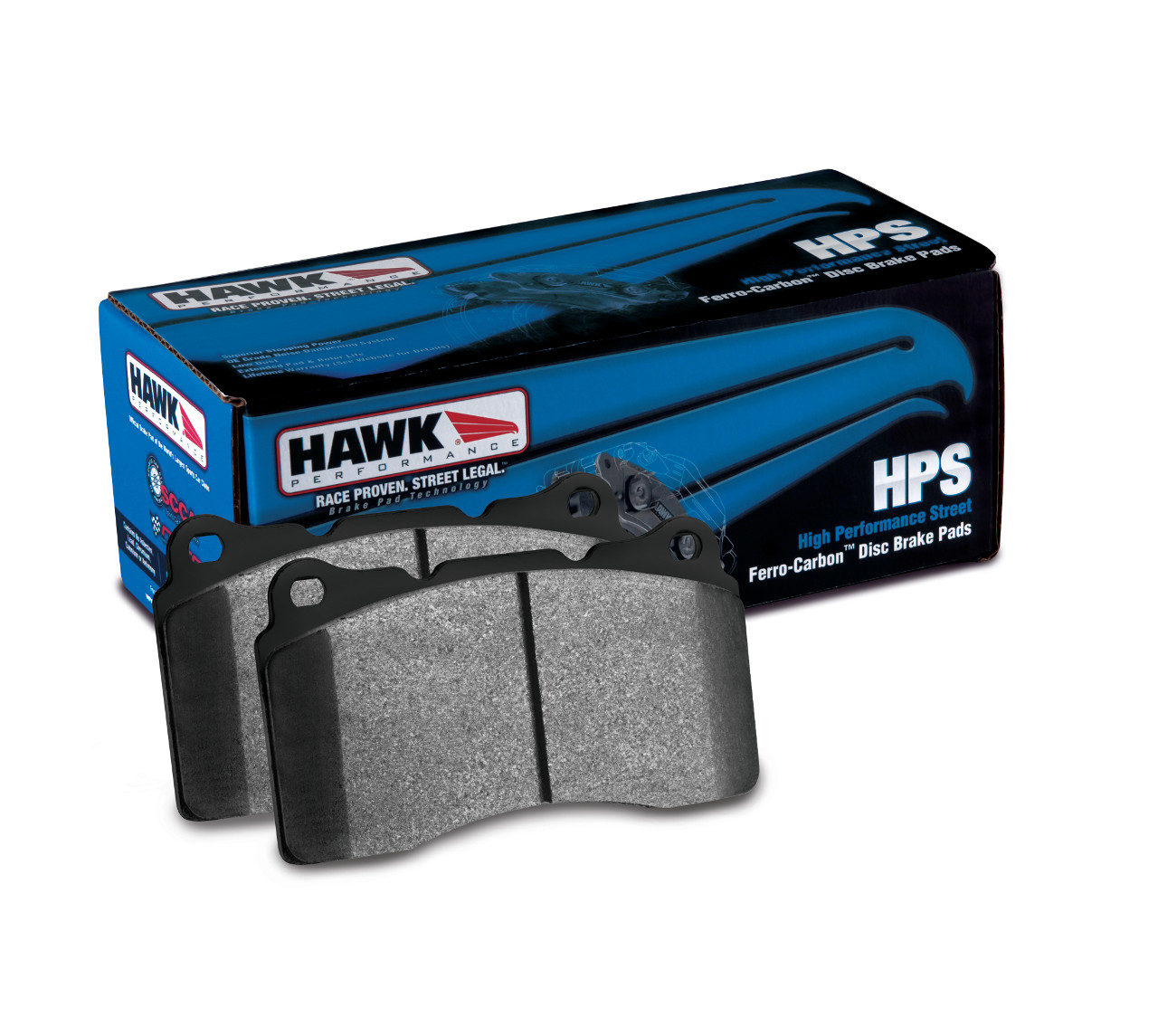 Hawk 13+ Subaru BRZ / Scion FRS Rear HPS Street Brake Pads