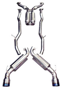 Injen SES Cat-Back Exhaust for Genesis Coupe 3.8