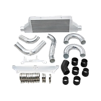 Intercooler + Upper and Lower Piping Kit For 2018+ Kia Stinger 3.3 Twin Turbo Big Core