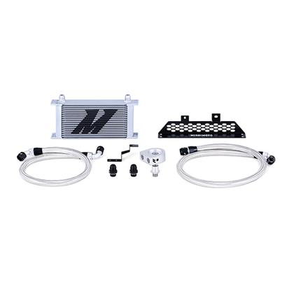 Mishimoto 13+ Ford Focus ST Non-Thermostatic Oil Cooler Kit - Silver
