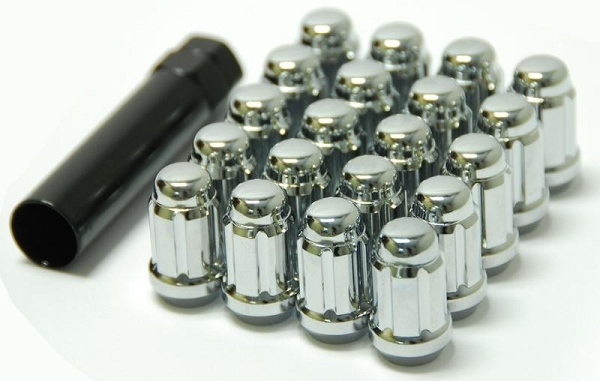 Wheel Mate Muteki Closed End Lug Nuts - Chrome 12x1.25