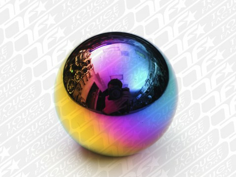 NRG Round Heavyweight Shift Knob - Multi Color for Universal (5spd Pattern)