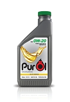 Purol Elite Synthetic Motor Oil 0W20 (works for 5w20 engines)