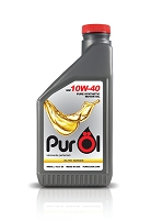 Purol Elite Synthetic Motor Oil 10W40 (works for 5w40 engines)
