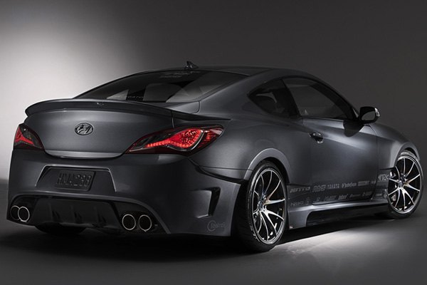 ARK Legato Collection (Fiberglass Rear Wide Over Fenders + Bumper Extensions) Genesis Coupe 10+