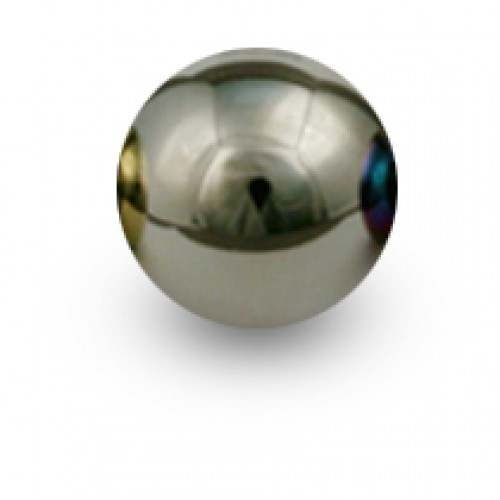 BLOX Racing 490 Limited Series Spherical Shift Knob - Platinum