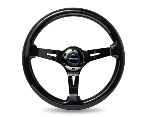 Classic Black Wood Grain Wheel (3