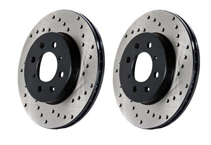 Stoptech Drilled Sport Brake Rotor for Sonata / Optima (Front Right)