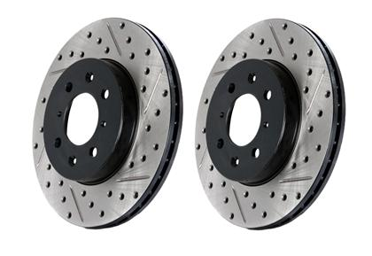 Stoptech Drilled Sport Brake Rotor for Sonata / Optima (Rear Left)