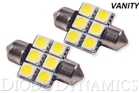 2010-2016 Hyundai Genesis Coupe Vanity Light LEDs (pair)