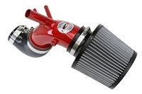 HPS Performance Shortram Air Intake Kit 2013-2014 Hyundai Genesis Coupe 2.0T Turbo, Red