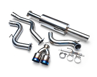 Agency Power Stainless Steel Catback Exhaust With Titanium Tips Ford Focus ST 2013-2017