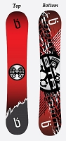 Limited Edition BTR Snowboard (By Blanksnowboards.com)