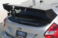 Rally Innovations 2013-2014 Ford Focus ST Rear Hatch Wing