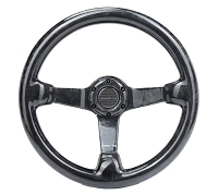 NRG Forged Carbon Fiber Steering Wheel (350mm / 3in. Deep)