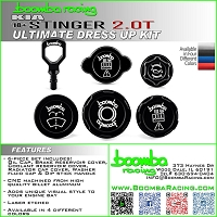 Boomba Racing Kia Stinger 2.0T Ultimate Dress Up Kit