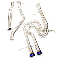 ISR Race Exhaust - Hyundai Veloster Turbo 13-15
