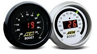 AEM 52mm Boost Digital Gauge -30-35psi