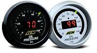 AEM 52mm Pressure (Oil or Fuel) Digital Gauge (0-100psi)