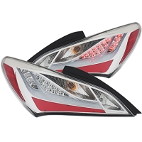Anzo Tail lights for 2010-2016  Hyundai Genesis Coupe (Chrome)