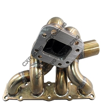 CX Racing Top Mount T3 Turbo Manifold For 10-14 Hyundai Genesis Coupe 2.0T