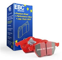 EBC Redstuff Ceramic Low Dust Brake Pads 2014-2019 Ford Fiesta ST (FRONT)