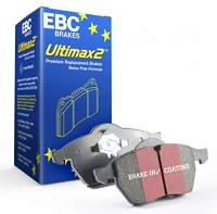 EBC Ultimax2 OEM Replacement Brake Pads 2014-2019 Ford Fiesta ST (FRONT)
