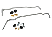 Whiteline 18-19 Kia Stinger (Incl. GT/GT1/GT2/Premium) Front & Rear Sway Bar Kit (Sway Bars ONLY)