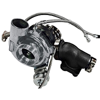 ATP Turbo GT2860RS With .64 Turbine Housing A/R Bolt-On Cast Gray Focus ST 2013-2018