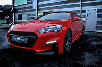 M&S Front Body Kit Bumper HYPER G Type A for 2013-16 Genesis Coupe