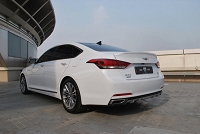 M&S Trunk Lip Spoiler for Hyundai Genesis Sedan DH