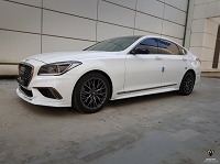 M&S Side Splitters for Genesis G80