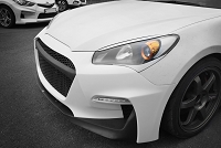 M&S Front Body Kit Bumper HYPER G for 2010-2012 Genesis Coupe