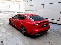 M&S Rear Diffuser for KIA Stinger