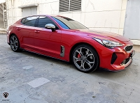 M&S Side Splitters for KIA Stinger