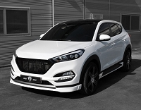 M&S Front Lip for Hyundai Tucson TL