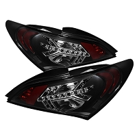 Spyder Tail lights for 2010-2016  Hyundai Genesis Coupe (Black)