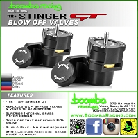 Boomba Racing Kia Stinger 3.3T Blow off valves