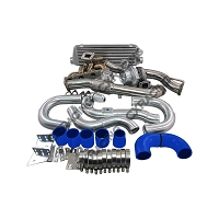 CX Racing Top Mount Turbo Kit with Intercooler For 10-14 Genesis Coupe 2.0T