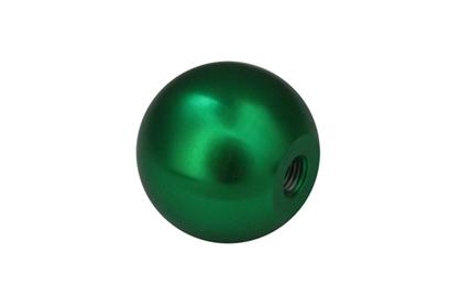 Torque Solution Billet Shift Knob (Green): Universal 10x1.25