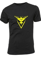 Pokemon Go Team Instinct T-Shirt (MENS)