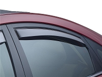 WeatherTech 12+ Hyundai Veloster Front and Rear Side Window Deflectors - Dark Smoke