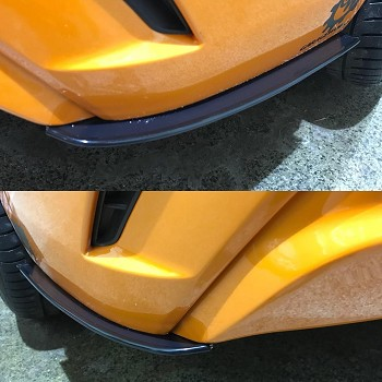 Aerotekk Rear Winglets for 17+ Elantra Sport
