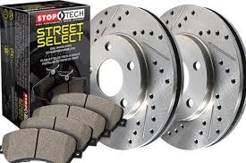 StopTech Select Sport 01-06 BMW M3 Slotted & Drilled Front Brake Package
