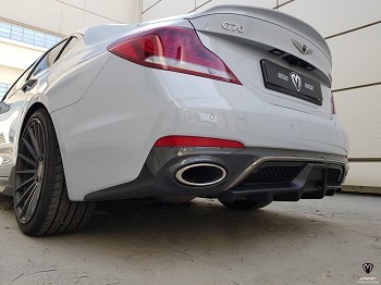 M&S Rear Diffuser for Genesis G70