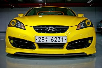 Sequence Garage 2010-2012 Hyundai Genesis Coupe Spec-1 Front Lip